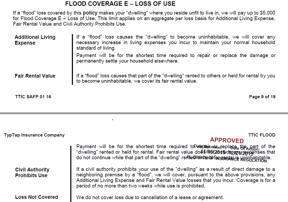 Loss Of Use Coverage >> Loss Of Use Do I Have It On My Flood Policy Typtap Insurance